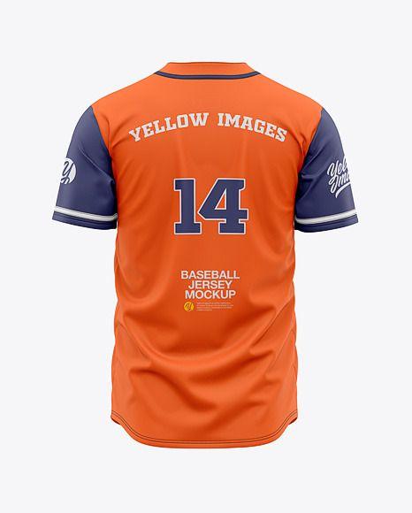 Download Men S Baseball Jersey Mockup Back View Baseball T Shirt In Apparel Mockups On Yellow Images Object Mockups Baseball Jersey Men Clothing Mockup Shirt Mockup