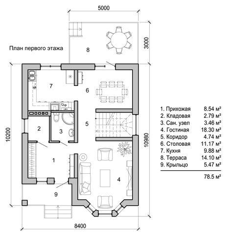 346 best P L A N O S CASAS I D E A S images on Pinterest - plan 3 k che