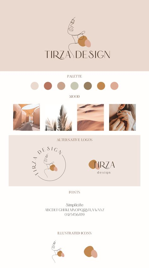 Self Branding, Branding Kit, Branding Design, Brand Identity Design, Business Logo, Business Design, Palette Design, Instagram Marketing, Brand Guidelines