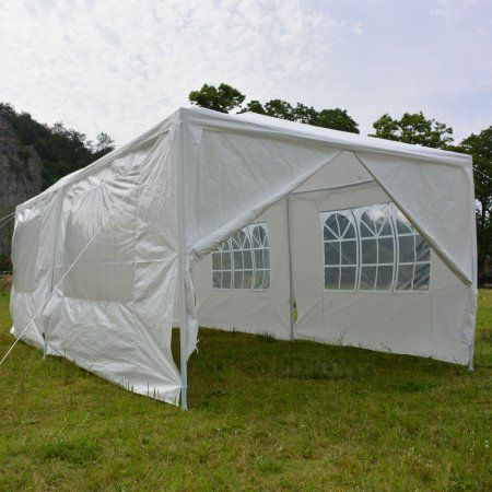 Ktaxon Upgrade 10 X 20 Party Tent Wedding Canopy Gazebo Tent Pavilion W 6 Side Walls 2 Doors Outdoorweddings Gazebo Tent Tent Wedding Canopy