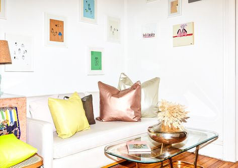 Inside Our Favorite Rugmakers' Cool Queens Flat - Home Tour - Lonny
