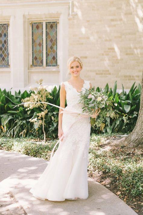 Elegant Dallas Wedding By Matt Julie Weddings Wedding Attire
