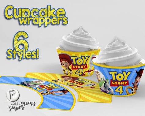 Toy Story Cupcake Wrappers