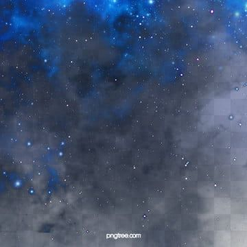 Blue Creative Hand Painted Realistic Wind Starry Sky Elements Galaxy Clipart Interstellar Cloud Blue Series Png Transparent Clipart Image And Psd File For Fr Star Background Blue Sky Background Starry Sky