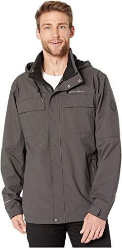 TKTOKY Mens Raincoats Hooded Waterproof Rain Jacket Outdoor Lightweight Rainwear