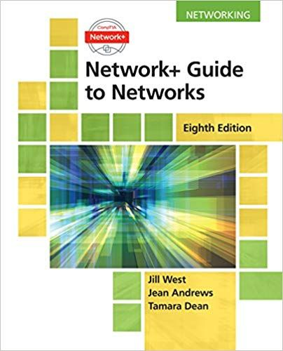 Test Bank For Network Guide To Networks 8th Edition Jill