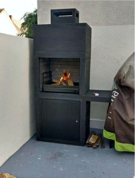 Barbecue contemporain Impexfire pierre AV15M-My Barbecue ...