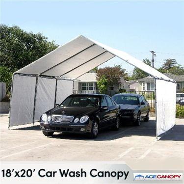 18x20 Car Wash Canopy In 2020 Car Wash Car Car Canopy