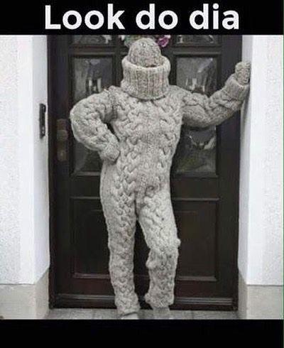 Bom Dia Quase Sai De Casa Assim Hoje Aqui No Hospital Esta Congelante Bomdia Frio Inverno Br Feriado Humor Frases De Frio Engracadas Piadas De Frio