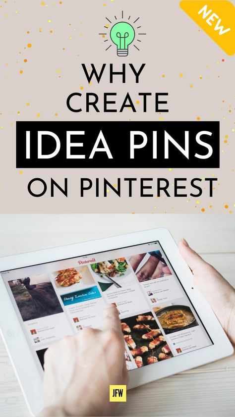 Why You Should Create Idea Pins on Pinterest