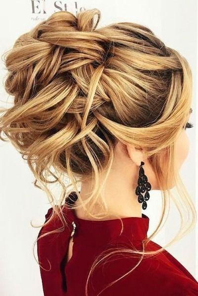 Prom Hairstyles With Unique Accessories Unique Prom Hairstyles Peinados Para Boda Invitadas Peinados De Novia Peinados Updo Para Bodas