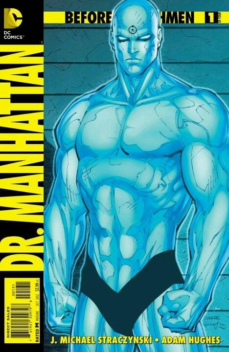 Watchmen - Dr Manhattan by Jim Lee