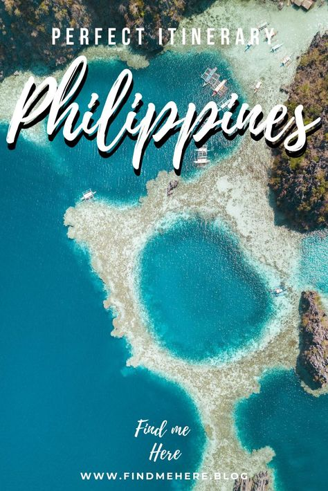 PHILIPPINES IN 2 WEEKS - ISLAND HOPPING TRAVEL ITINERARY ~