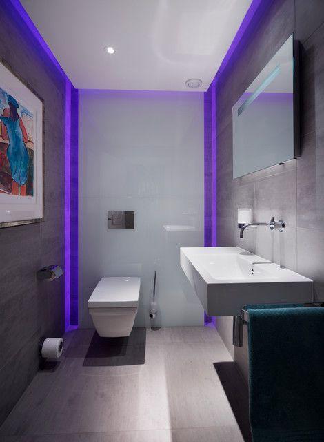 16 Funktionsideen Fur Led Beleuchtung Im Badezimmer Badezimmer Design Badezimmer Klein Wc Design