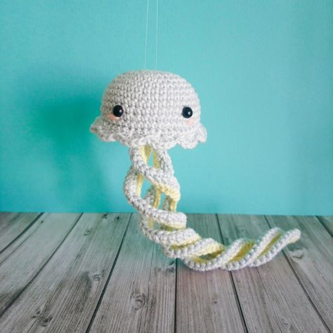 Crochet Jellyfish (con imágenes) | Artesanía de crochet, Patrones ... | 474x474