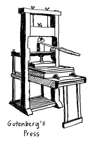 Johannes Gutenberg And The Printing Press Social Cultural Impact Printing Press Johannes Gutenberg Gutenberg Press