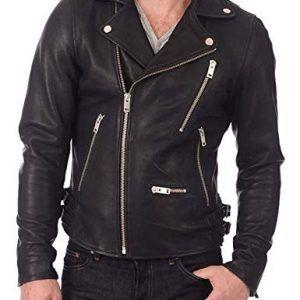 Cafe Racer Men S Biker Diamond Quilted Vintage Motorcycle Black Genuine Leather Jacket Leather Jacket Cafe Racer Leather Jacket Best Leather Jackets