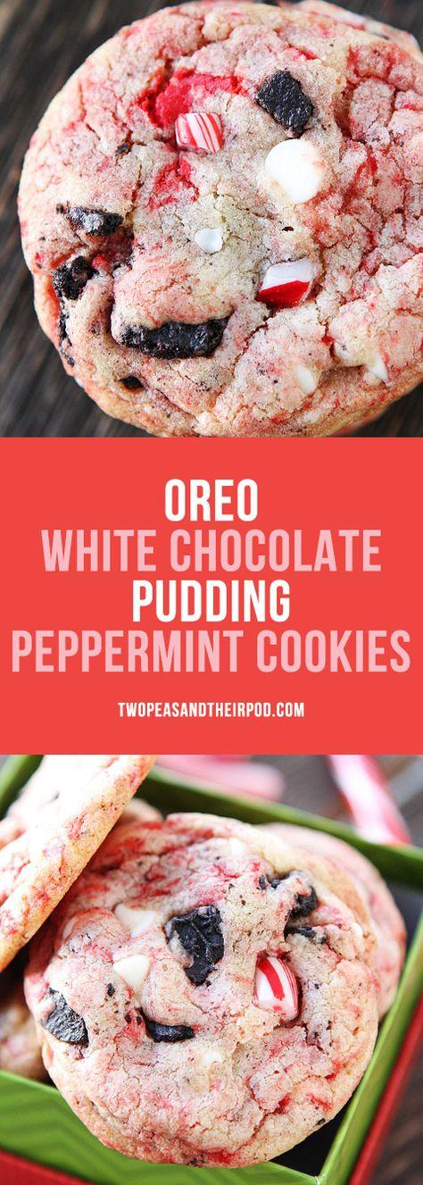 christmas Oreo White Chocolate Pudding...