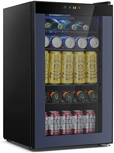 Great For Kismile 85 Can Beverage Refrigerator Cooler 2 3 Cu Ft Mini Fridge With Lcd Temperature Cont In 2020 Beverage Cooler Beverage Refrigerator Refrigerator Cooler