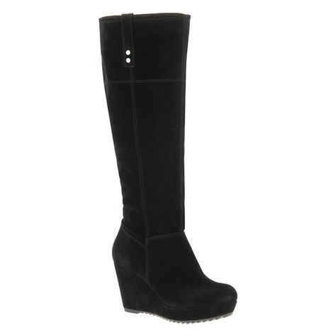 49d37483672c My favorite Aldo wedge boots. Though I m normally a size 8 1 2