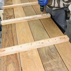 Realiser Des Caillebotis Grand Format Pour Habiller Une Terrasse