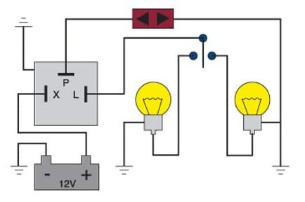 3 Pin Turn Signal Flasher Wiring Diagram | schematic and ...