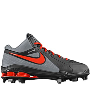 Just customized and ordered this Nike Shox MVP Elite 3/4 MCS iD (Wide)  Men\u0027s Baseball Cleat from NIKEiD. #MYNIKEiDS | Sports | Pinterest | Baseball  cleats, ...