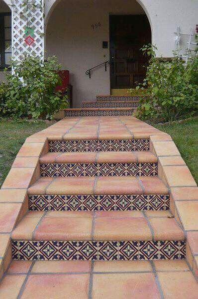 Escalier D Exterieur Jardines Escaleras De Patio Escalera De Entrada