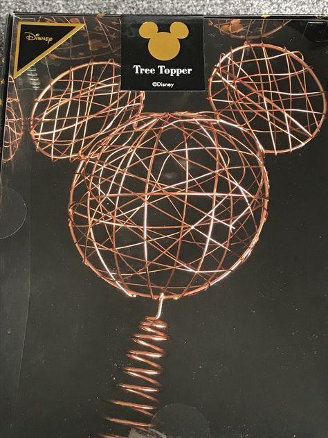 Disney Christmas Tree Topper Uk.Disney Mickey Mouse Tree Topper Copper Primark Home
