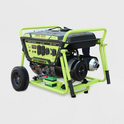 10000W Electric Start Generator Green - Green-Power in 2019