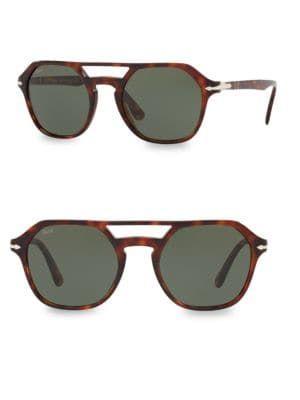 67419be0aeab PERSOL 54MM Tortoiseshell Aviator Sunglasses. #persol | Persol ...