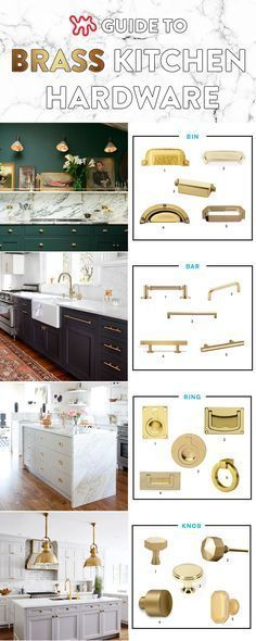 All About That Brass A Kitchen Hardware Shopping Guide Brass Kitchen Hardware Brass Kitchen Kitchen Hardware