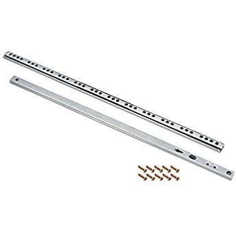 Uxcell 16 Inch Drawer Slides Ball Bearing Two Way Slide Track Rail 16mm Wide 1 Pair Drawer Tracks Drawers Slide