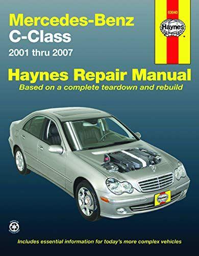 Epub Free Mercedesbenz Cclass 2001 Thru 2007 Automotive Repair Manual Pdf Download Free Epub Mobi Ebooks In 2020 Repair Manuals Chevrolet Malibu Benz C