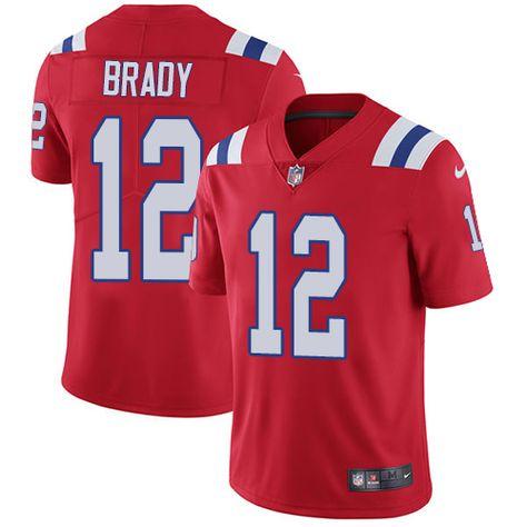 757634599 ... closeout nike patriots 12 tom brady red alternate mens stitched nfl  vapor untouchable limited jersey e9d7c