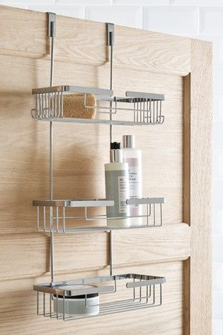 Three Tier Wire Shower Caddy With Images Shower Caddy Bathroom Caddy Bathroom Accessories