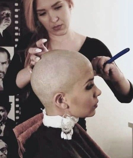 42++ Shaved head womens hairstyles ideas