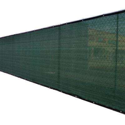 68 In X 50 Ft Green Privacy Fence Screen Plastic Netting Mesh