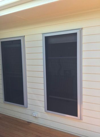 Crimsafe Safe S Capes For Those Requiring An Emergency Exit Or Easy Access To Double Hung Windows For Cle Security Screen Door Door Blinds Hamptons Style Homes
