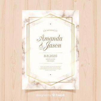 Download Elegant Wedding Invitation With Leaves For Free Wedding Cards Free Wedding Templates Wedding Invitation Vector