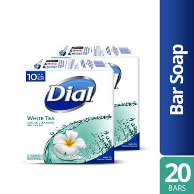Dial Skin Care Bar Soap White Tea 4 Oz 20 Bars Pampered Clean Creamy Lather In 2020 Tea Soap White Tea Soap