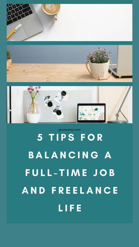 5 Tips For Balancing Freelance Life