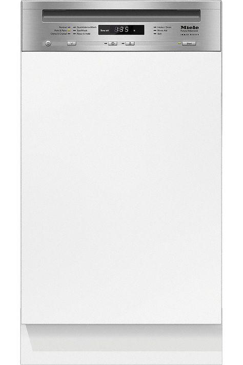 Miele Ada 18 Integrated Slimline Built In Dishwasher 10410030 Built In Dishwasher Countertop Dishwasher Miele Dishwasher