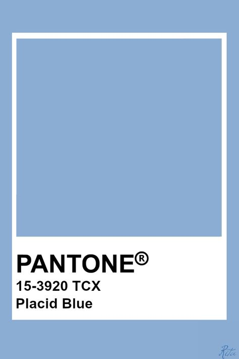 Pantone Placid Blue