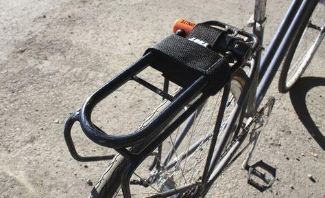 YNOT Cycle Rack Mounted U Lock Holster   Bike, Cycling