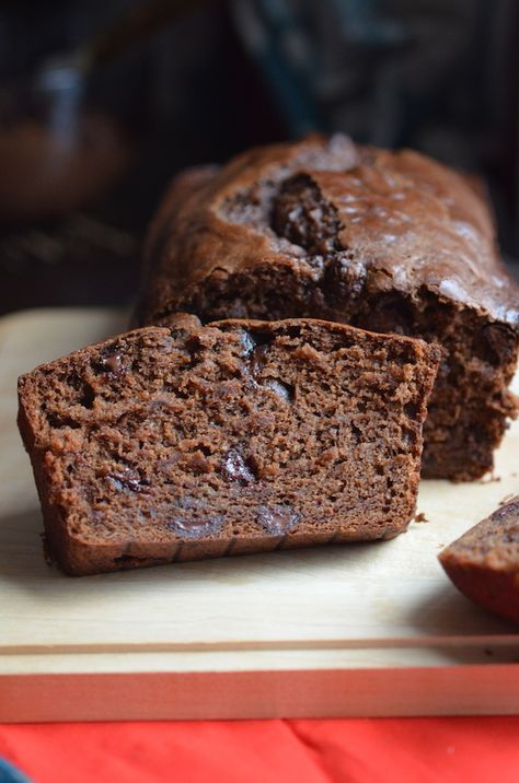 Vegan Double Chocolate Banana Bread