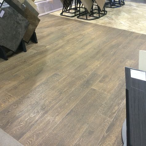 Ragno Cambridge Oak In Brown Tile That Looks Exactly Like Wood Comes In 2 Different Widths Love Them M Wood Look Tile Floor Brown Tile Floor Wood Look Tile