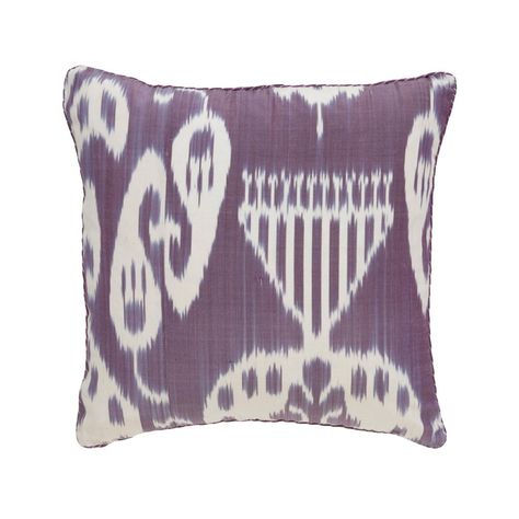 Remy Ikat Pillow Madeline Weinrib 1 Lavender Pillows