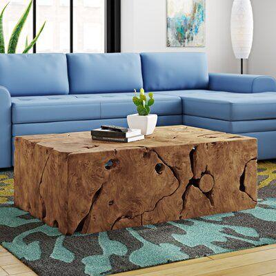 Ibolili Slice Coffee Table Coffee Table Coffee Table Wood Decor