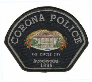 Found On Bing From Www Lifeincorona Com Police Patches Corona Police Department